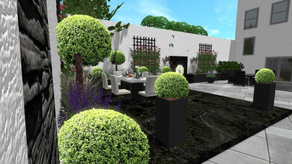 D Gartenplanung