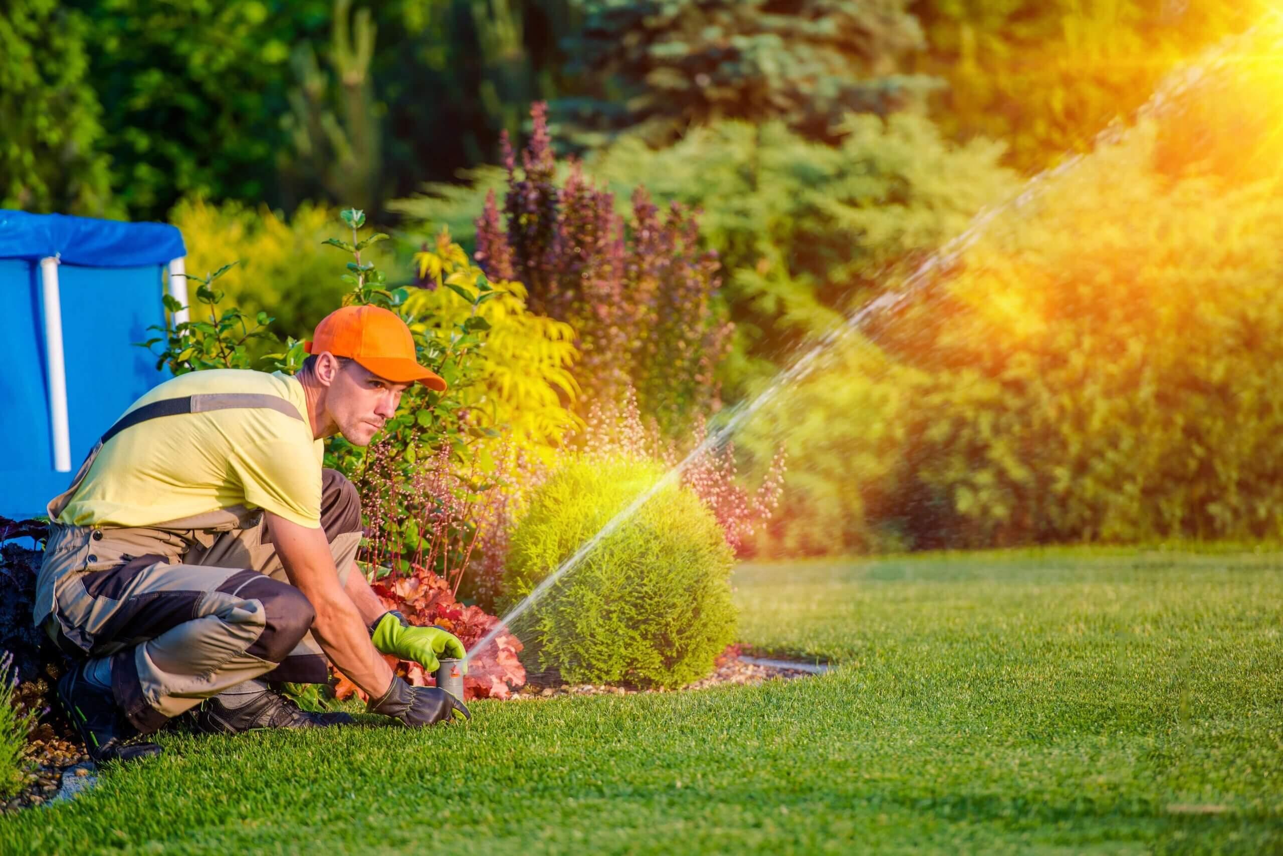 Gartenbewasserug bauen