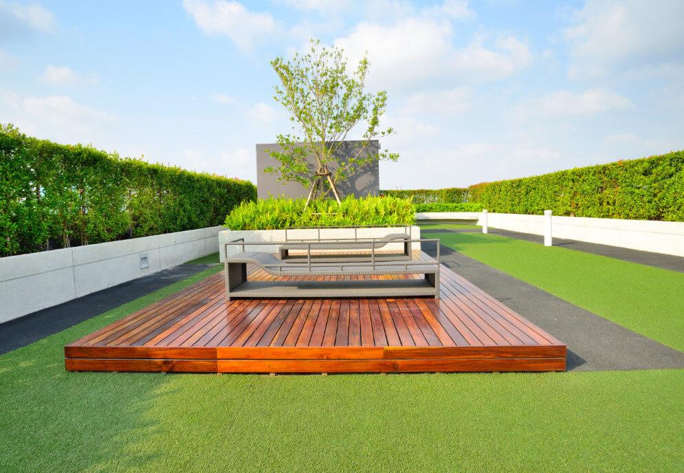 Wir planen Gärten, Dachterrassen
