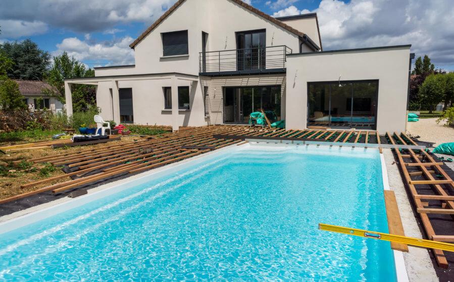 Pool Bauen Dienstleistungen fuer Haus Garten